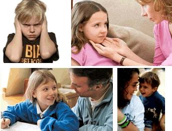 Fotocollage bij cursus voor ouders en opvoeders